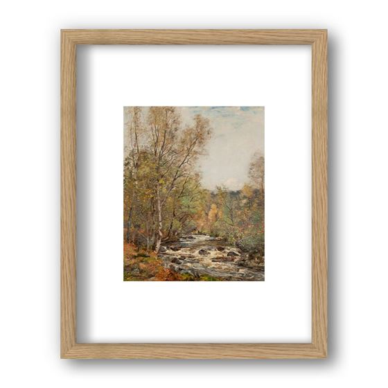 The Moriston River by John Henderson