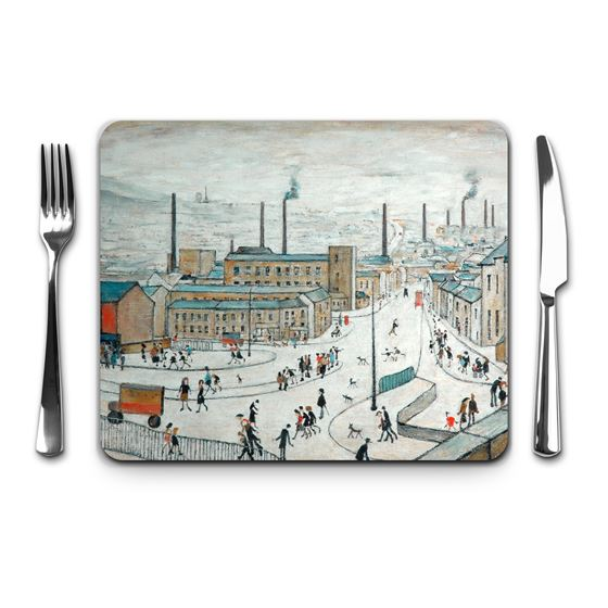 L. S. Lowry 'Huddersfield' placemat