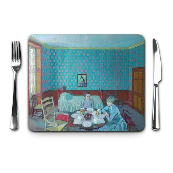 Harold Gilman 'Tea in the Bedsitter' placemat