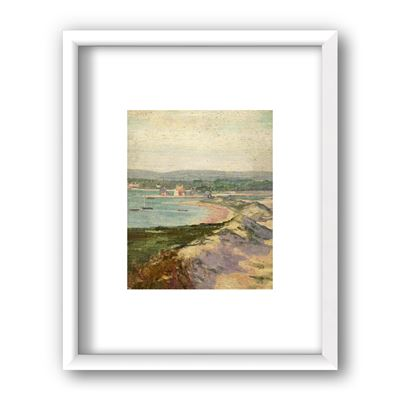 Mudeford from Hengistbury Head, Dorset - framed print