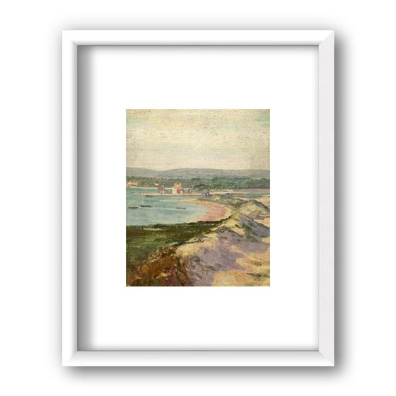 Mudeford from Hengistbury Head, Dorset by Alfred Lys Baldry
