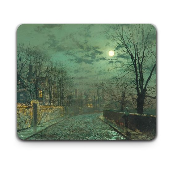 John Atkinson Grimshaw 'Moonlight Scene near Leeds' placemat