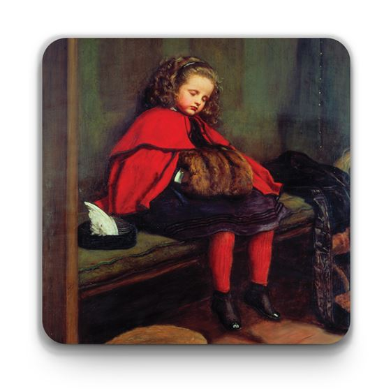 John Everett Millais 'My Second Sermon' coaster