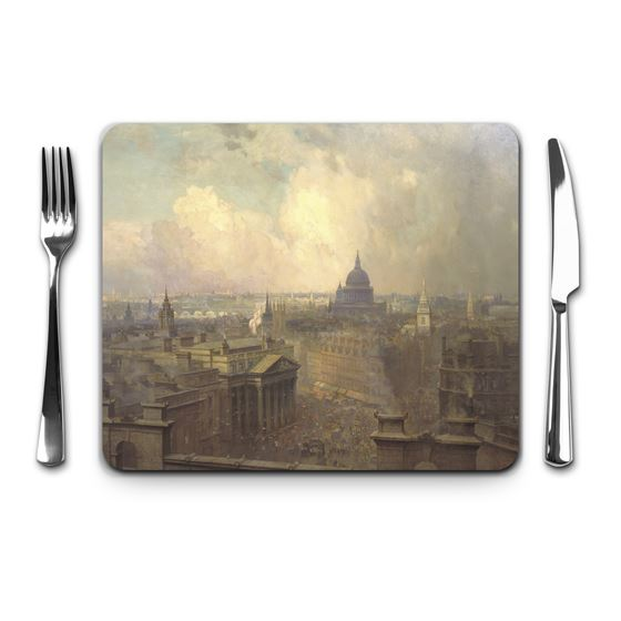 Niels Møller Lund 'The Heart of the Empire' placemat
