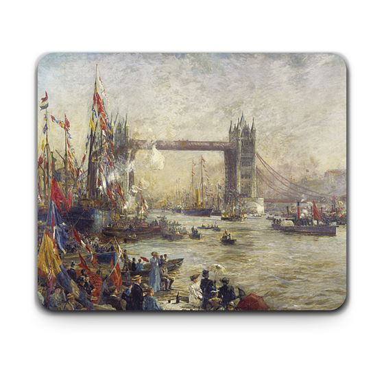 William Lionel Wyllie 'The Opening of Tower Bridge, London, 30 June 1894' placemat
