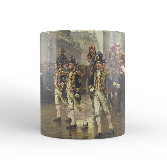 William Logsdail 'The Ninth of November, 1888' mug