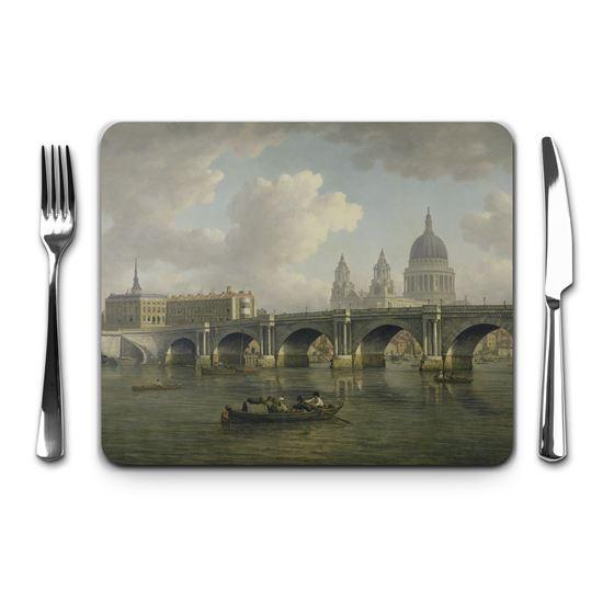 William Marlow 'Blackfriars Bridge and St Paul`s, London' placemat