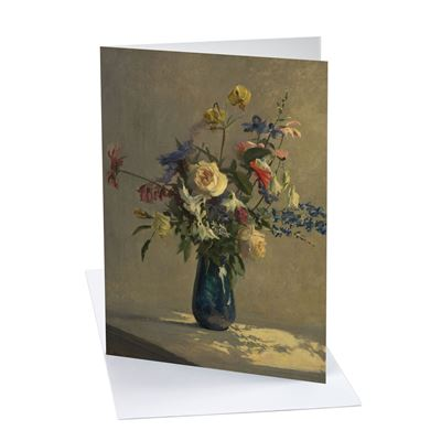 Ruth Latter 'Flowers' greetings card