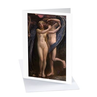 Annie Louisa Swynnerton 'Cupid and Psyche' greetings card