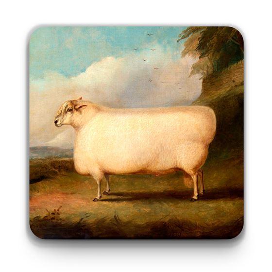 Richard Whitford 'A Leicester Ram' coaster
