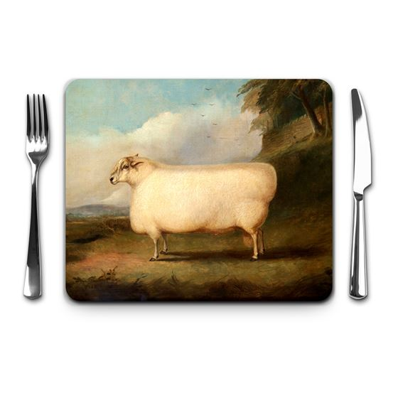 Richard Whitford 'A Leicester Ram' placemat