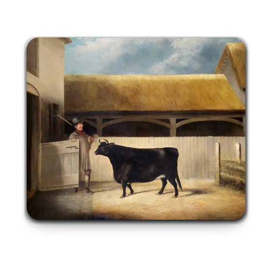 'A Small Black Cow' placemat