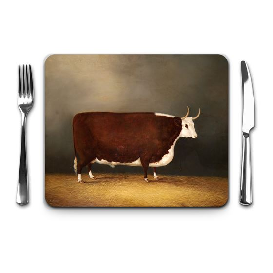 James Clark Senior 'Hereford Ox' placemat