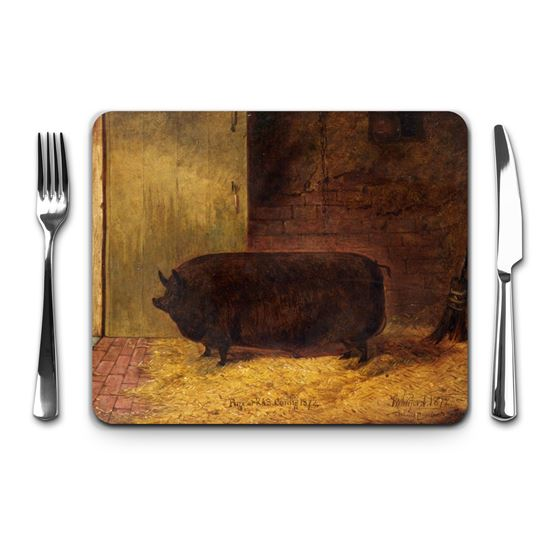 Richard Whitford 'Prize Pig, Royal Agricultural Show, Cardiff' placemat