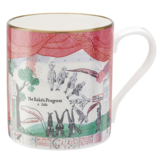 David Hockney 'Drop Curtain' mug