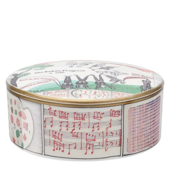 David Hockney 'Drop Curtain' trinket box