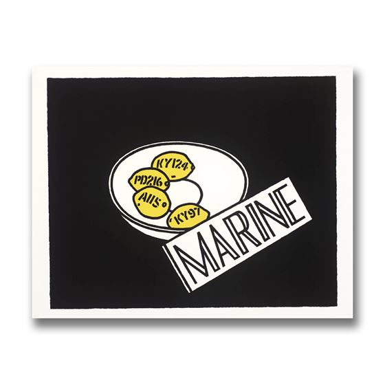 Marine: Ian Hamilton Finlay exhibition catalogue