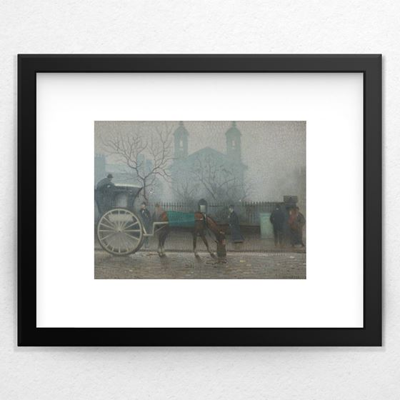 Hansom Cab at All Saints - 20mm Frame
