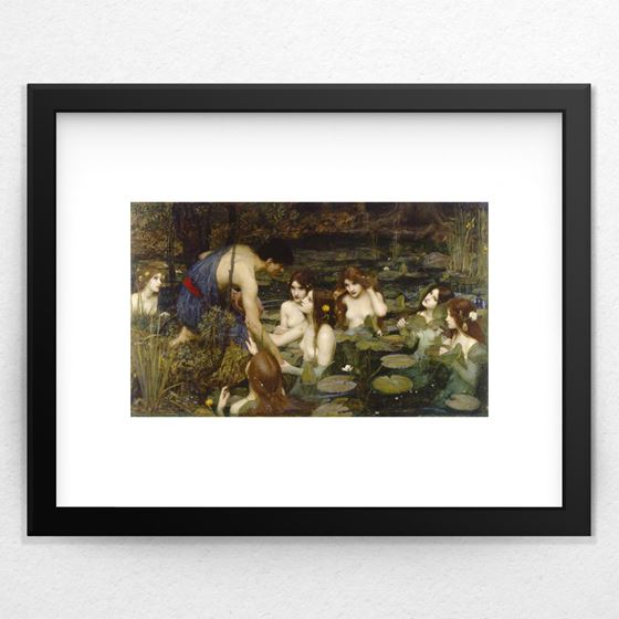 Hylas and the Nymphs - 20mm Frame