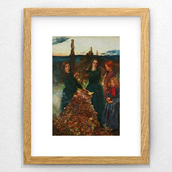 Autumn Leaves - 20mm Frame