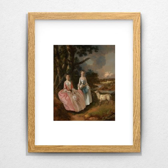 Mrs Mary Cobbold with Her Daughter Anne - 20mm Frame