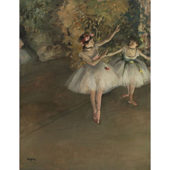 Two Dancers on a Stage - 20mm Frame