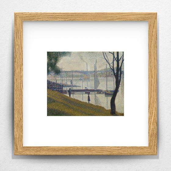 Bridge at Courbevoie - 20mm Frame