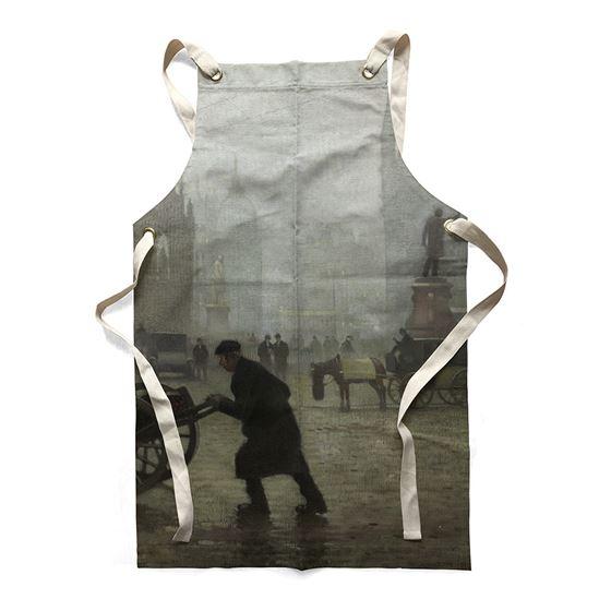 Adolphe Valette 'Albert Square, Manchester' apron