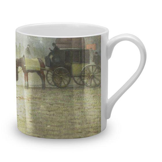 Adolphe Valette 'Albert Square, Manchester' bone china mug