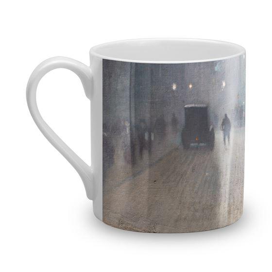 Adolphe Valette 'York Street Leading to Charles Street, Manchester' bone china mug