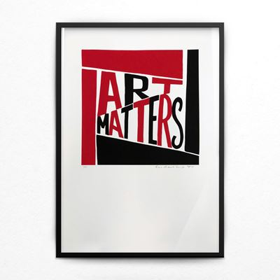 Art Matters limited-edition print