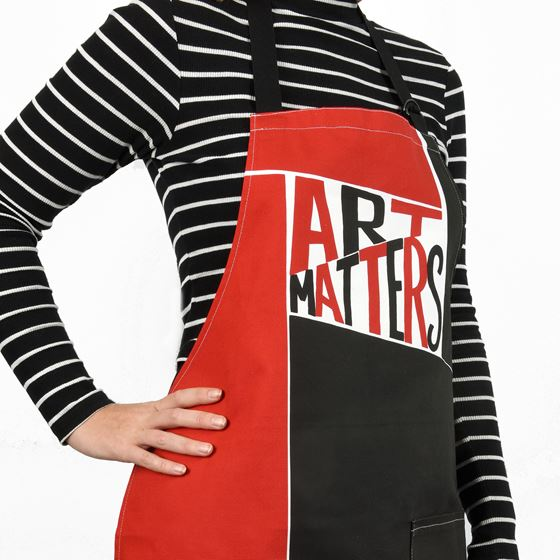 Art Matters apron