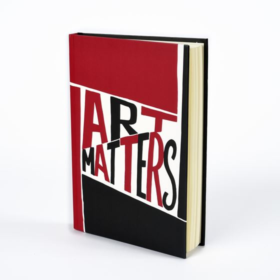 Art Matters hardback notebook
