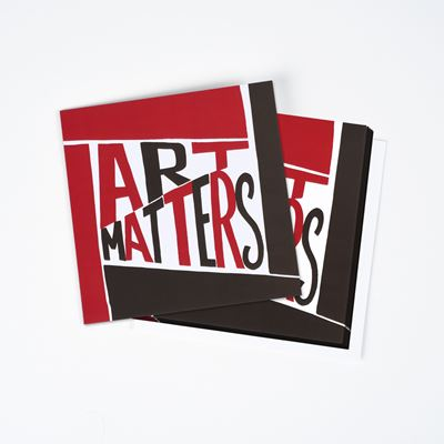 Art Matters greetings cards – six-piece set