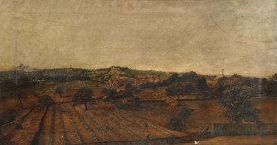 Landscape with the First Alexandra Palace