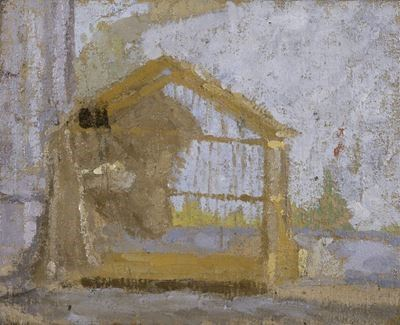 A Birdcage (House in a Landscape)