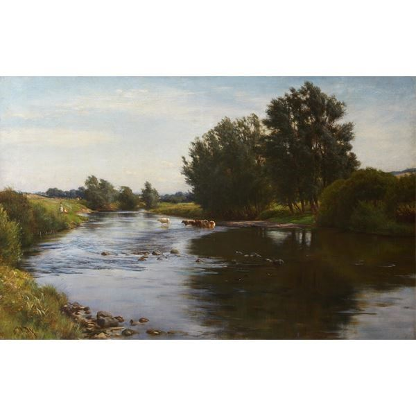 Landscape (River Tyne near East Linton)