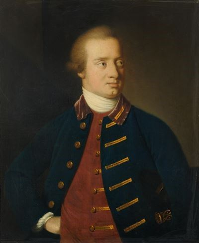 Captain Robert Fanshawe (1740–1823), RN