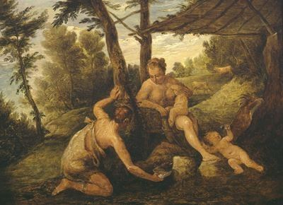 Adam and Eve after the Expulsion