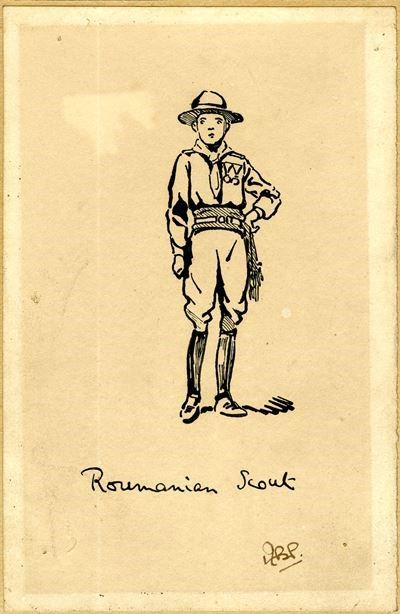 Roumanian Scout [sic]
