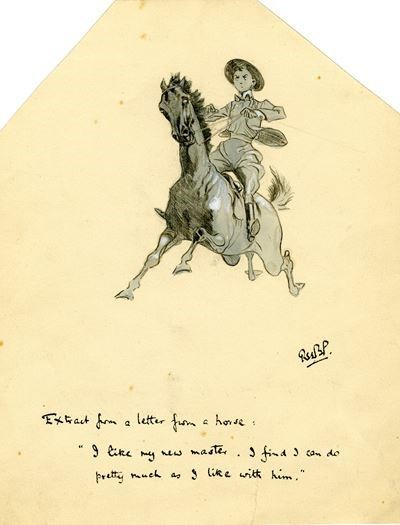 Scout Horse Rider