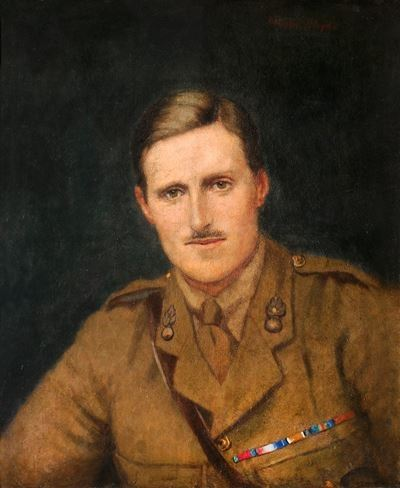 Major G. L. Compton-Smith, DSO, Royal Welch Fusiliers