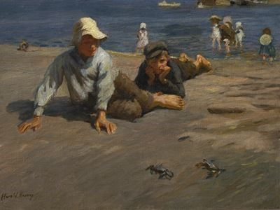 Sport on the Shore – A Crab Race