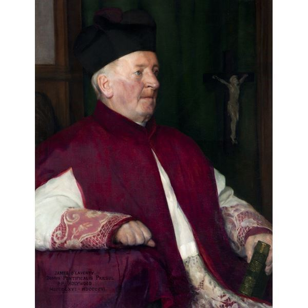 Buy Made To Order Art Prints From Art Uk Shop Right Reverend Monsignor James O Laverty 1826 1906