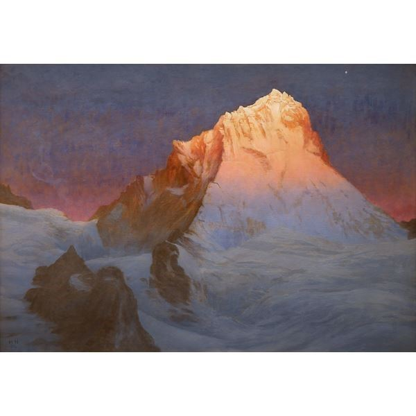 Sunrise on Dent Blanche