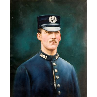 Portrait of a Staffordshire Policeman