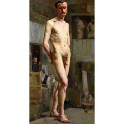 Male Nude Figure