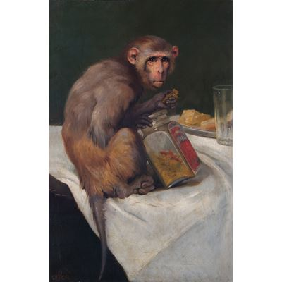 Monkey and a Jar