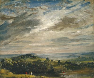 View from Hampstead Heath, Looking Towards Harrow