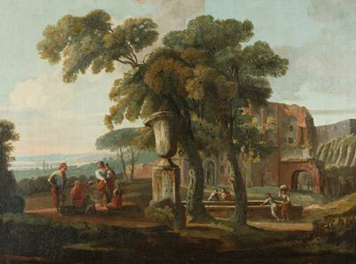 Classical Landscape with an Urn